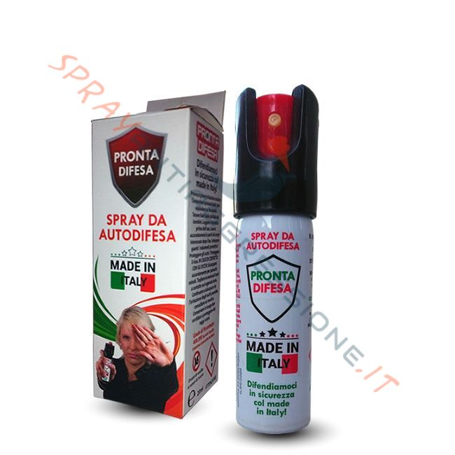 nuovo spray peperoncino su Sprayantiaggressione.it: PRONTA DIFESA