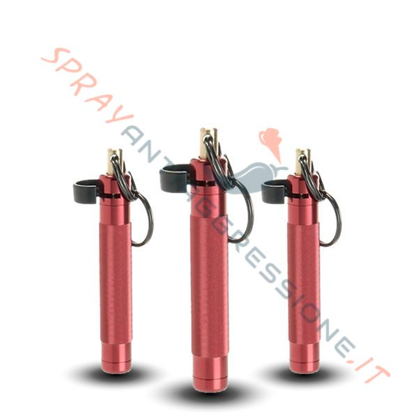 Kit natalizio spray peperoncino ASP Palm Defender Rosso X 3
