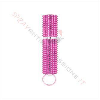 Immagine di Spray al peperoncino MACE Exquisite Purse Pink Strass