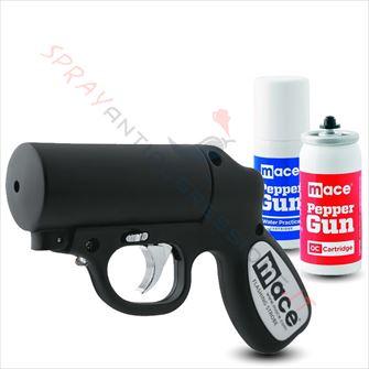 Immagine di Pistola Spray al peperoncino MACE Pepper Gun Nera