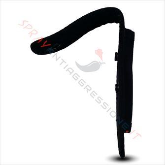 Immagine di Fondina nera porta spray al peperoncino per ASP Key e Palm Defender