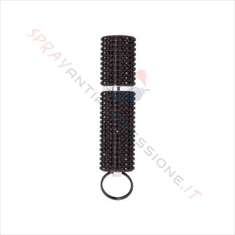 Immagine di Spray al peperoncino MACE Exquisite Purse Black Strass