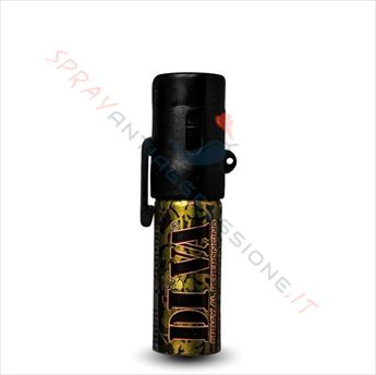 Spray peperoncino compatto spray antiaggressione - Spray al peperoncino diva top camo ...