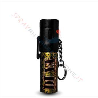 Immagine di Spray al peperoncino DIVA Top Camo Mimetico