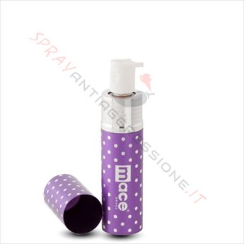 Immagine di Spray al peperoncino MACE Exquisite Purse Violet Pois