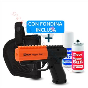 Immagine di Pistola Spray al peperoncino MACE Pepper Gun 2 Nera con fondina
