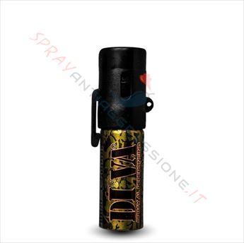 Immagine di Spray al peperoncino DIVA Base Camo Mimetico