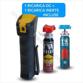 Immagine di Spray al peperoncino TW 1000 Man Professional con ricariche OC e Test incluse