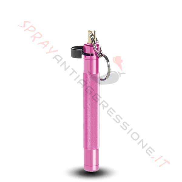 Immagine di Spray al peperoncino ASP Key Defender Rosa
