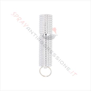 Immagine di Spray al peperoncino MACE Exquisite Purse Silver Strass