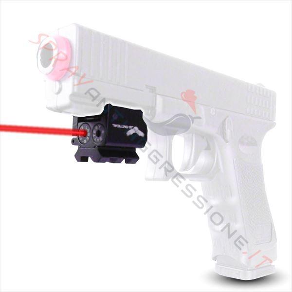 Immagine di Laser micro JS-Tactical per slitta picatinny per spray al peperoncino GEISLER Pepper gun GD-105