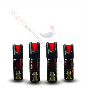 Immagine di Kit risparmio Spray al peperoncino SABRE Mamba X 4