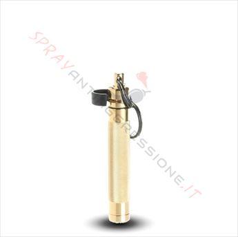 Immagine di Spray al peperoncino ASP Palm Defender Oro/Giallo