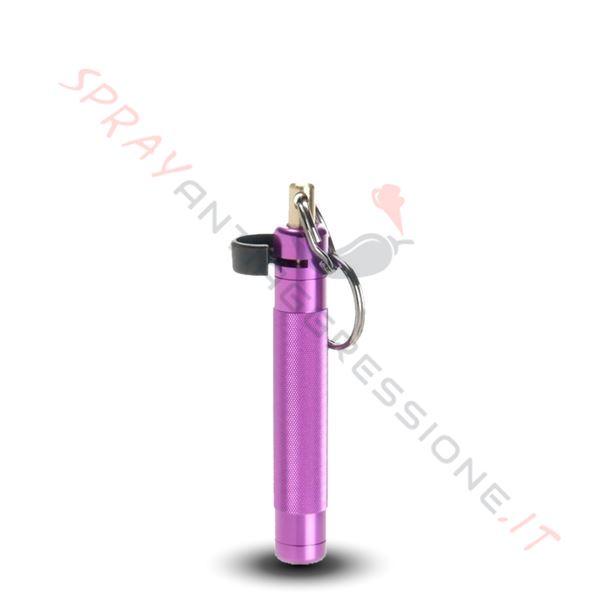 Immagine di Spray al peperoncino ASP Palm Defender Viola