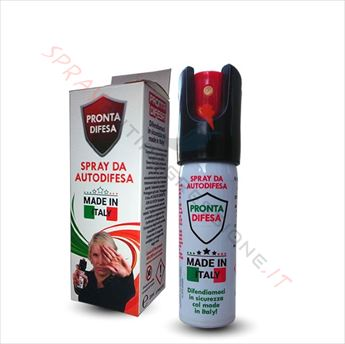 Immagine di Spray al peperoncino PRONTA DIFESA made in Italy