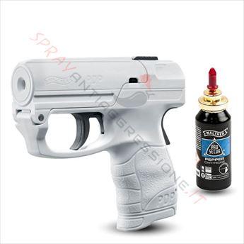 Immagine di Pistola spray al peperoncino UMAREX Pepper Gun PDP Walther bianca