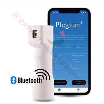 Immagine di Spray al peperoncino PLEGIUM Smart bluetooth rosa